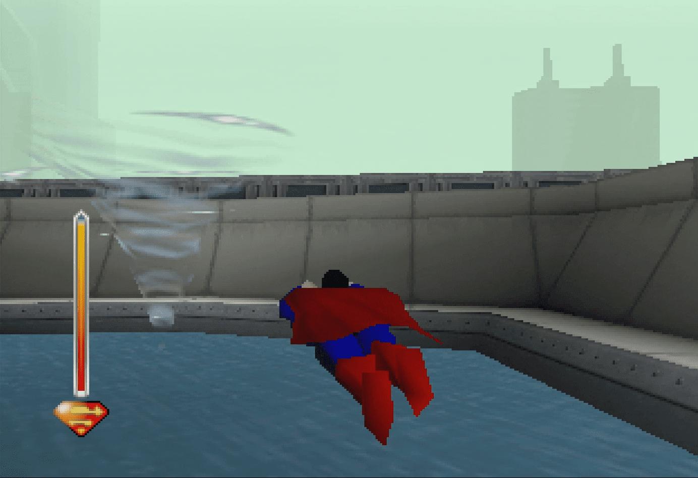 Superman vs. Tornado