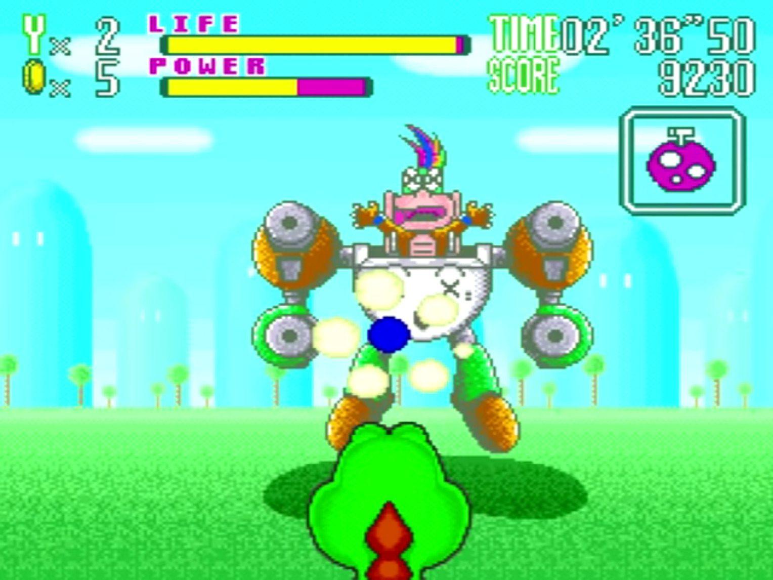 Yoshi's Safari Robo-pain