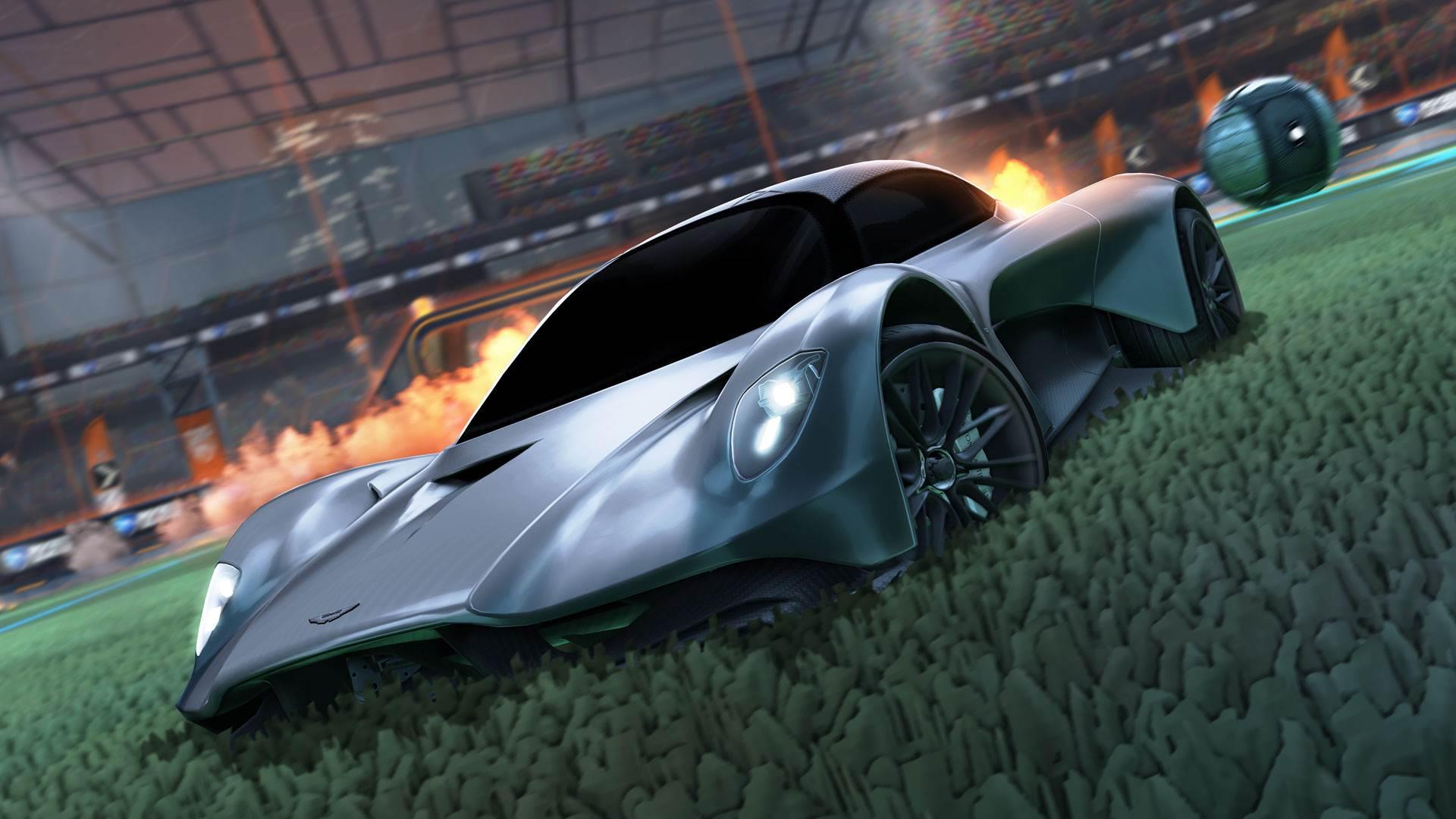 Rocket League 007 Aston Martin