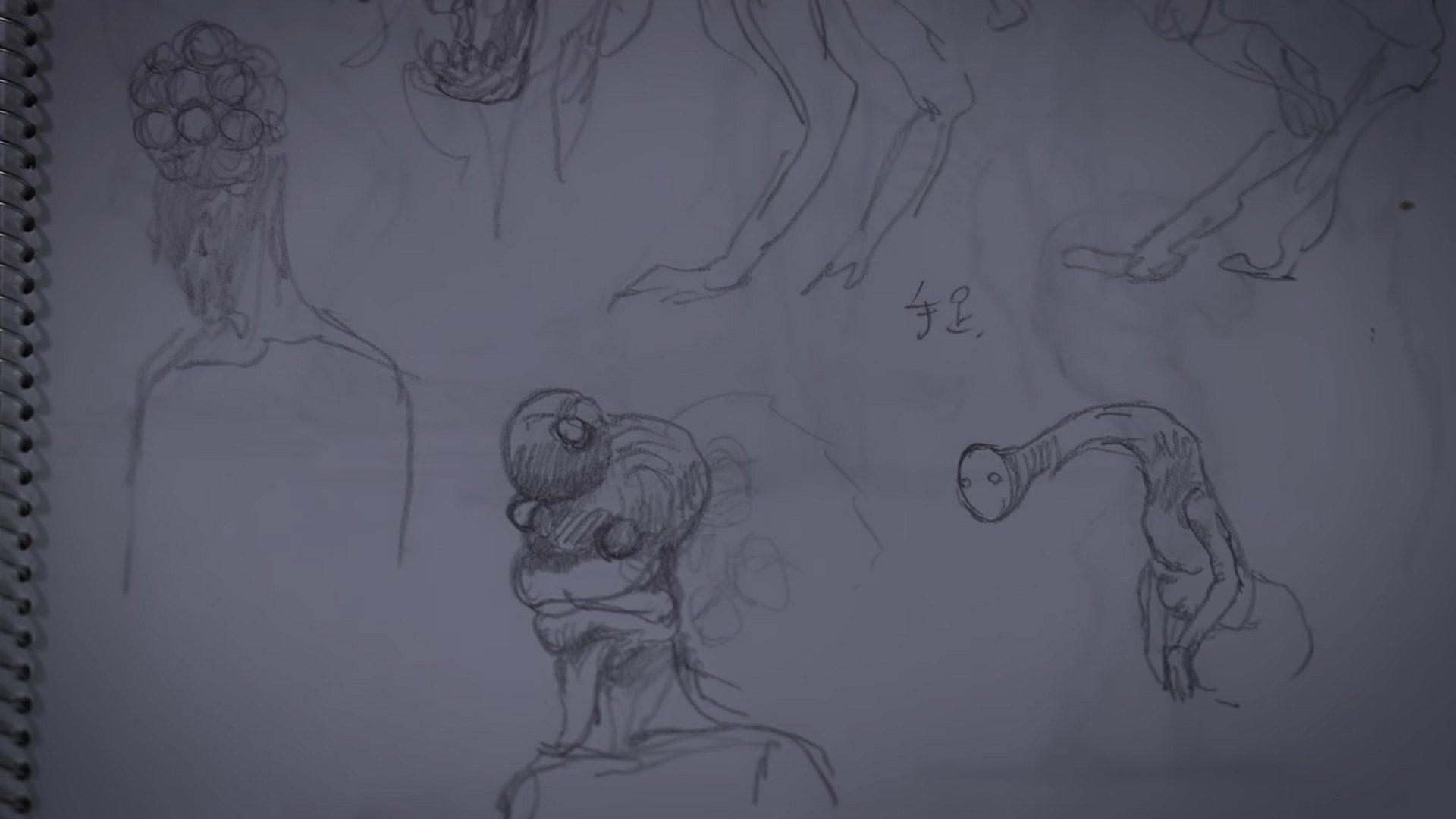 Bokeh Game Studio Miki Takahashi enemy sketch