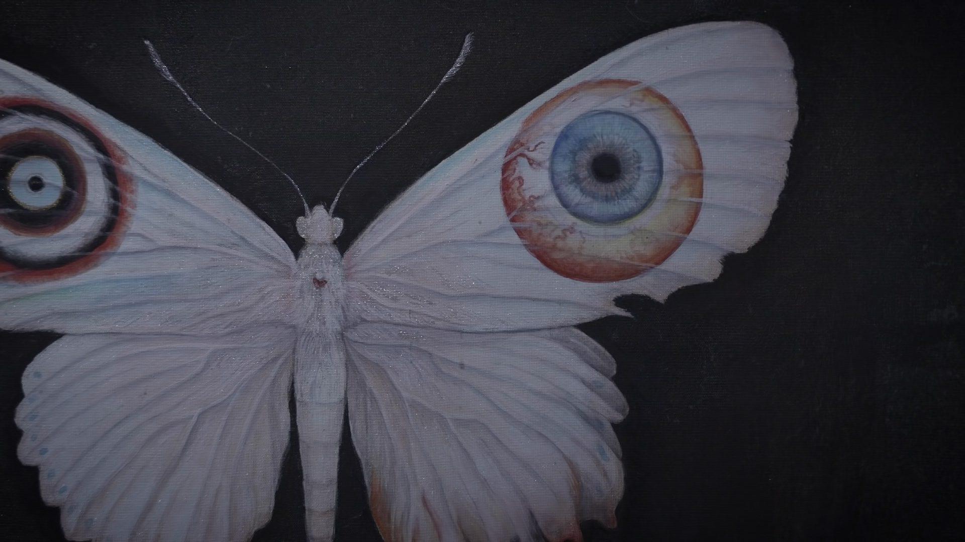 Miki Takahashi moth artwork