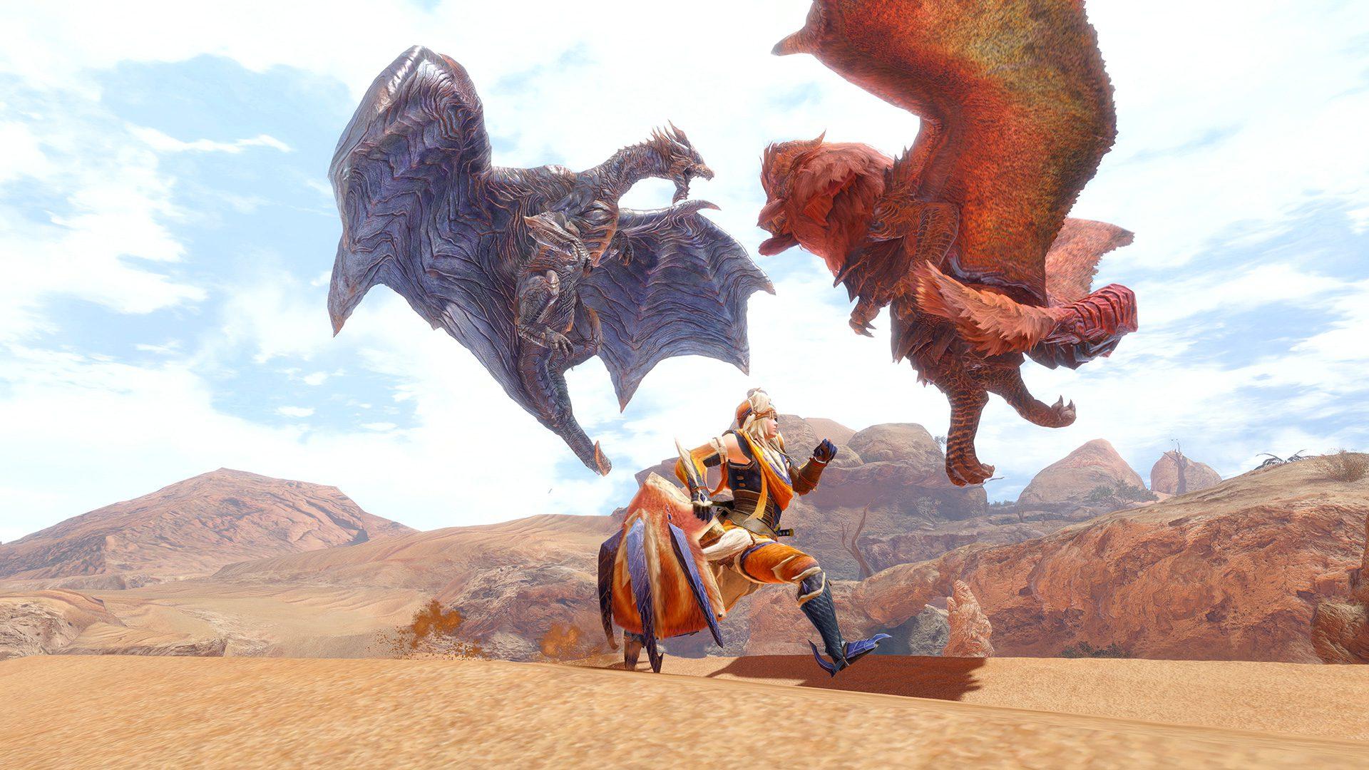 Monster Hunter Rise PC cross-save