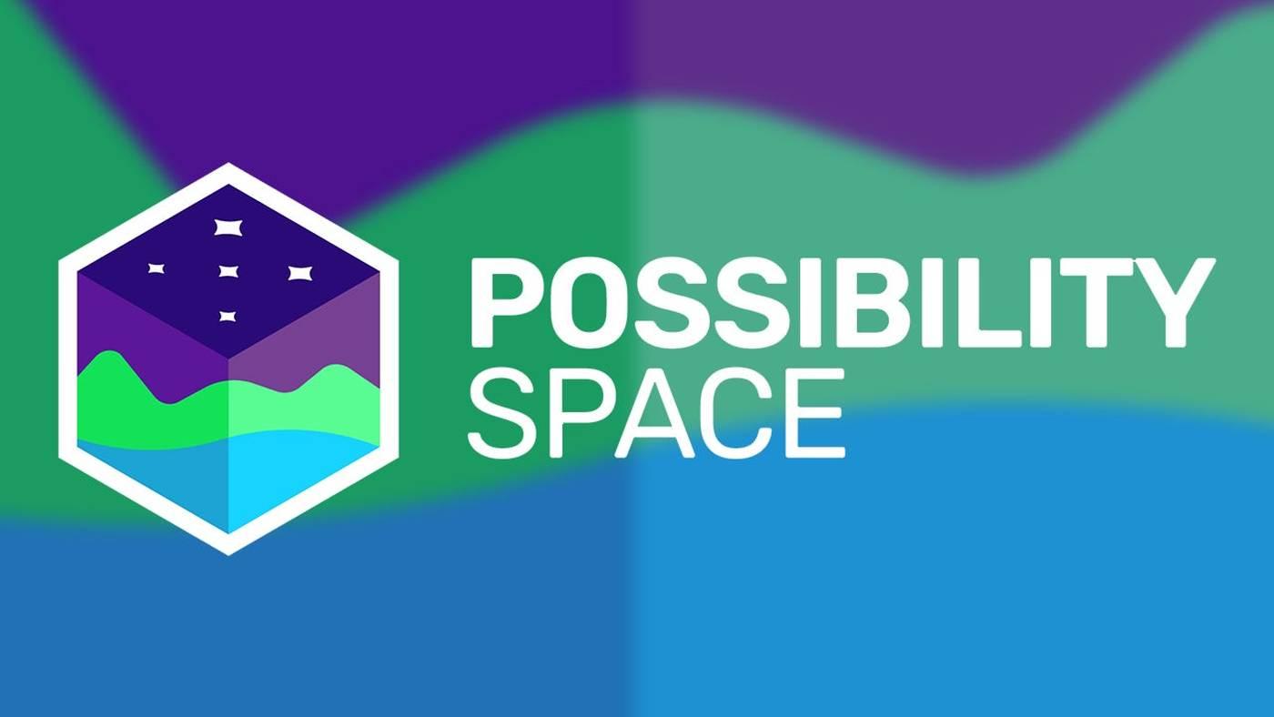Jeff Strain's new studio Possibility Space logo