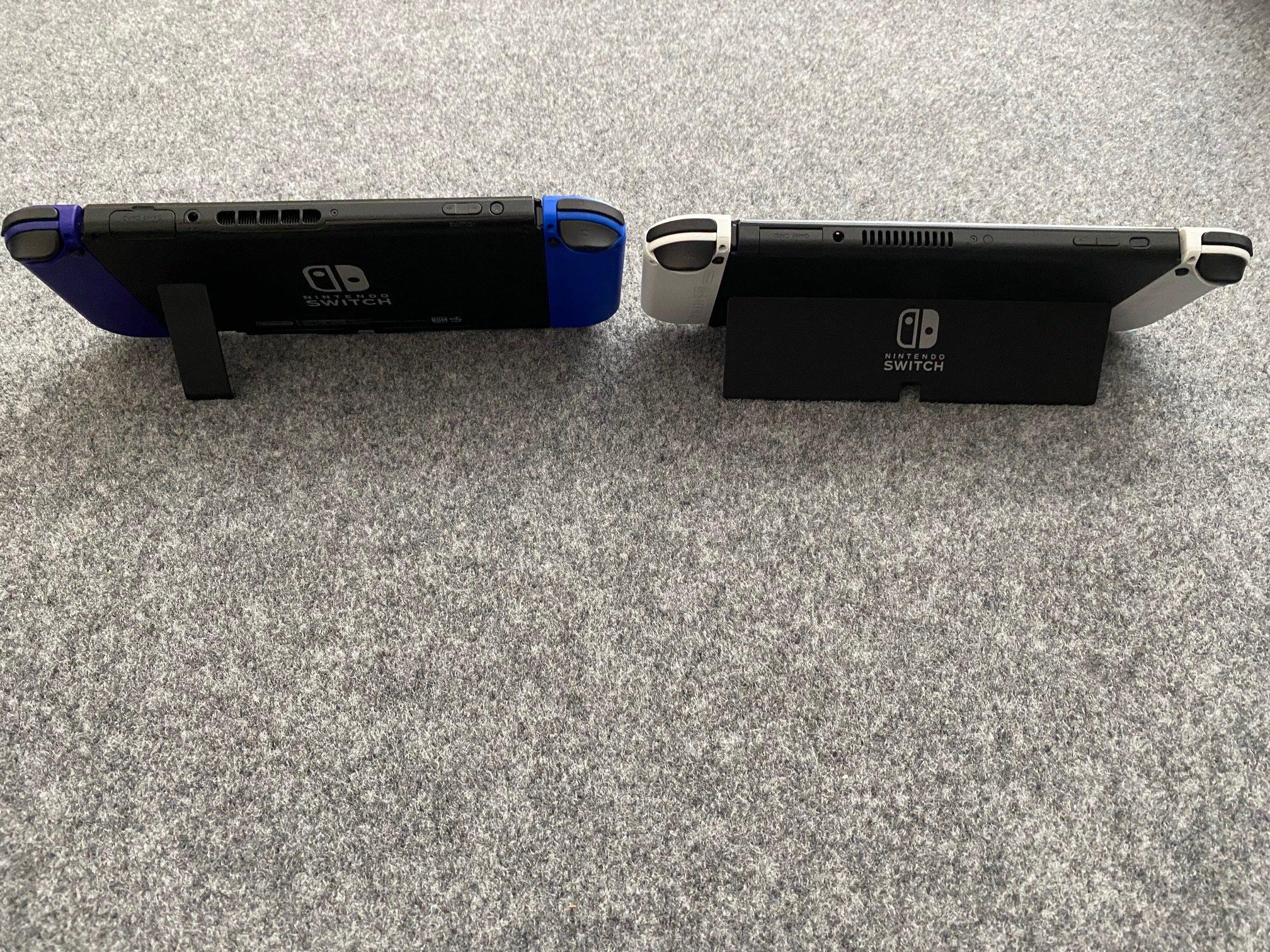 New Switch kickstand comparison