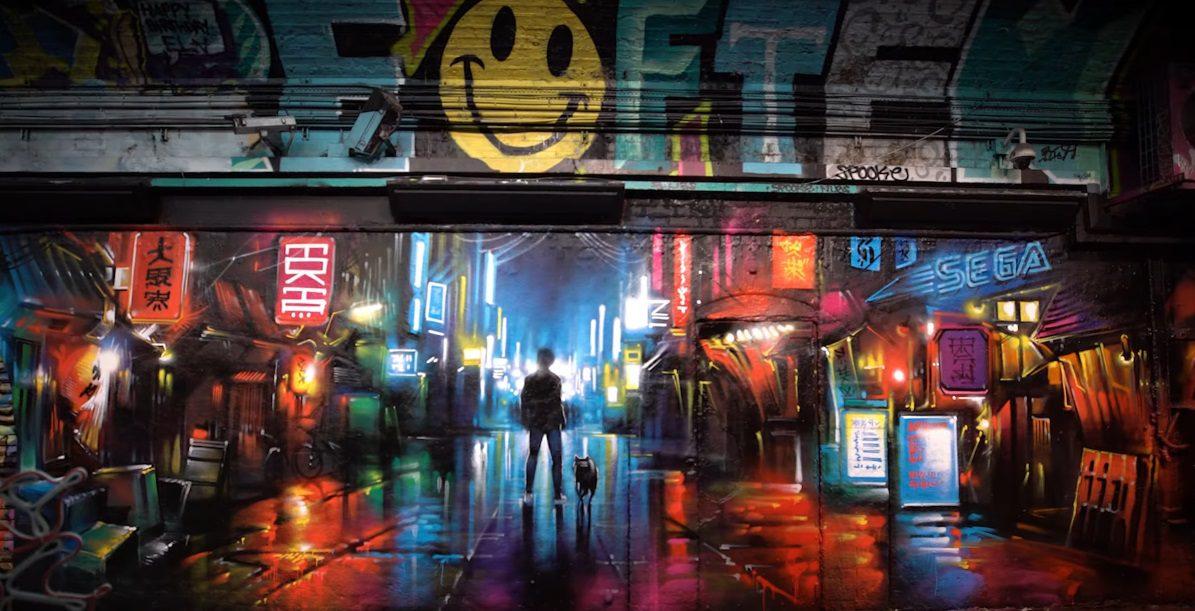 lost judgment mural london